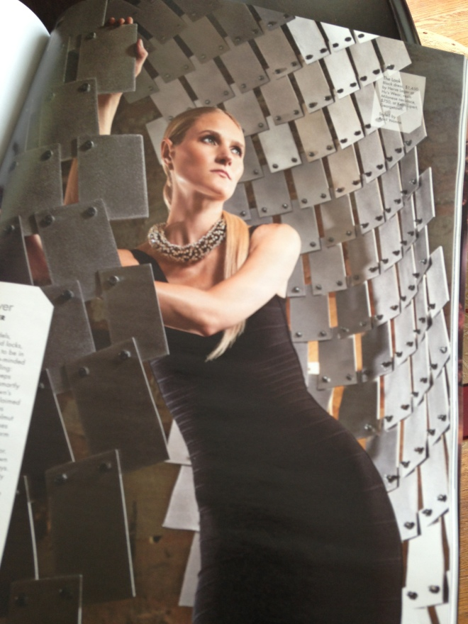 Herve Leger gown from Hu's Wear Georgetown and Keith Lipert necklace.